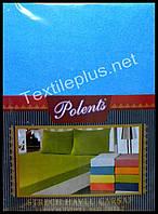 Махровая простынь на резинке Polents с наволочками