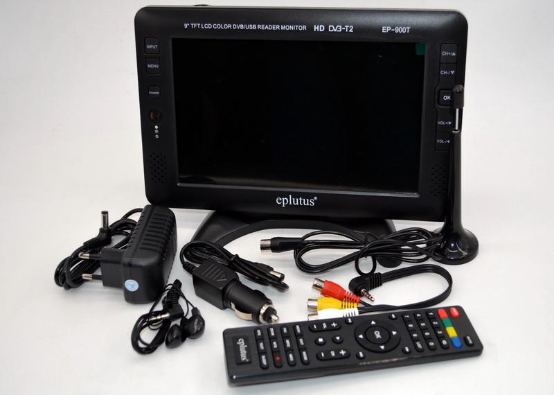 Eplutus EP-900T Цифровой телевизор (9 дюймов)