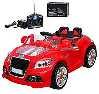 Электромобиль Audi одноместный красный