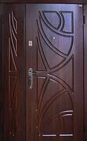 Двухстворчатые, полуторные двери Саган в Квартиру 2 замка, Николаев