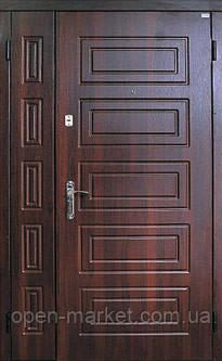 Двухстворчатые, полуторные двери Саган в Квартиру 2 замка, Николаев, фото 2