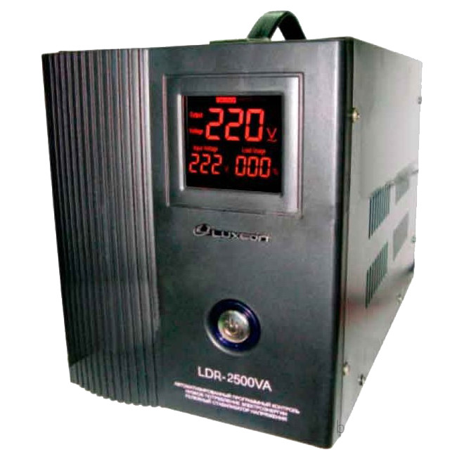 Стабілізатор напруги LUXEON LDR-2500 +