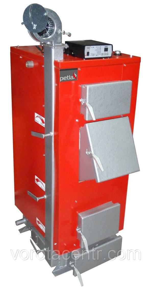 Твердотопливный котел длительного горения «PetlaX» 44 кВт (Украина)
