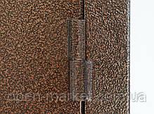 Двухстворчатые, полуторные двери Саган уличные в частный дом, Николаев, фото 2