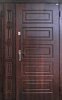 Двухстворчатые, полуторные двери Саган уличные в частный дом, Николаев, фото 3