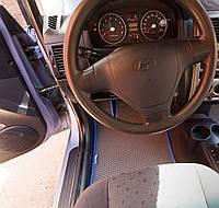 """Автоковрики ЭВА от ТМ """"EvaKovrik"""" для Hyundai Getz (5 дверей) (2002-2011)"""