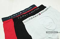 Комплект 3 шт  мужского нижнего белья Tommy Hilfiger  боксеры  - реплика , фото 3