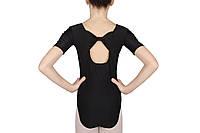 Купальник для танцев c бантом на спине Rivage line 6080-1 черный, бифлекс
