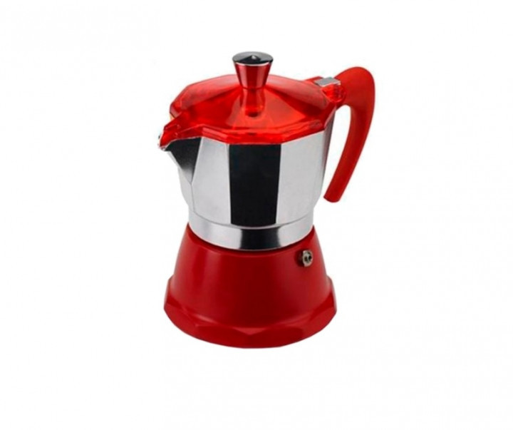Гейзерная кофеварка GAT FANTASIA красная на 9 чашек (106009) red