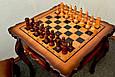 Стол шахматный «Дубовый». Доставка по всей Украине, фото 5