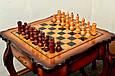 Стол шахматный «Дубовый». Доставка по всей Украине, фото 6