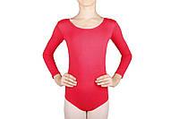 Купальник для танцев и гимнастики Dance&Sport 6028 коралловый, хлопок