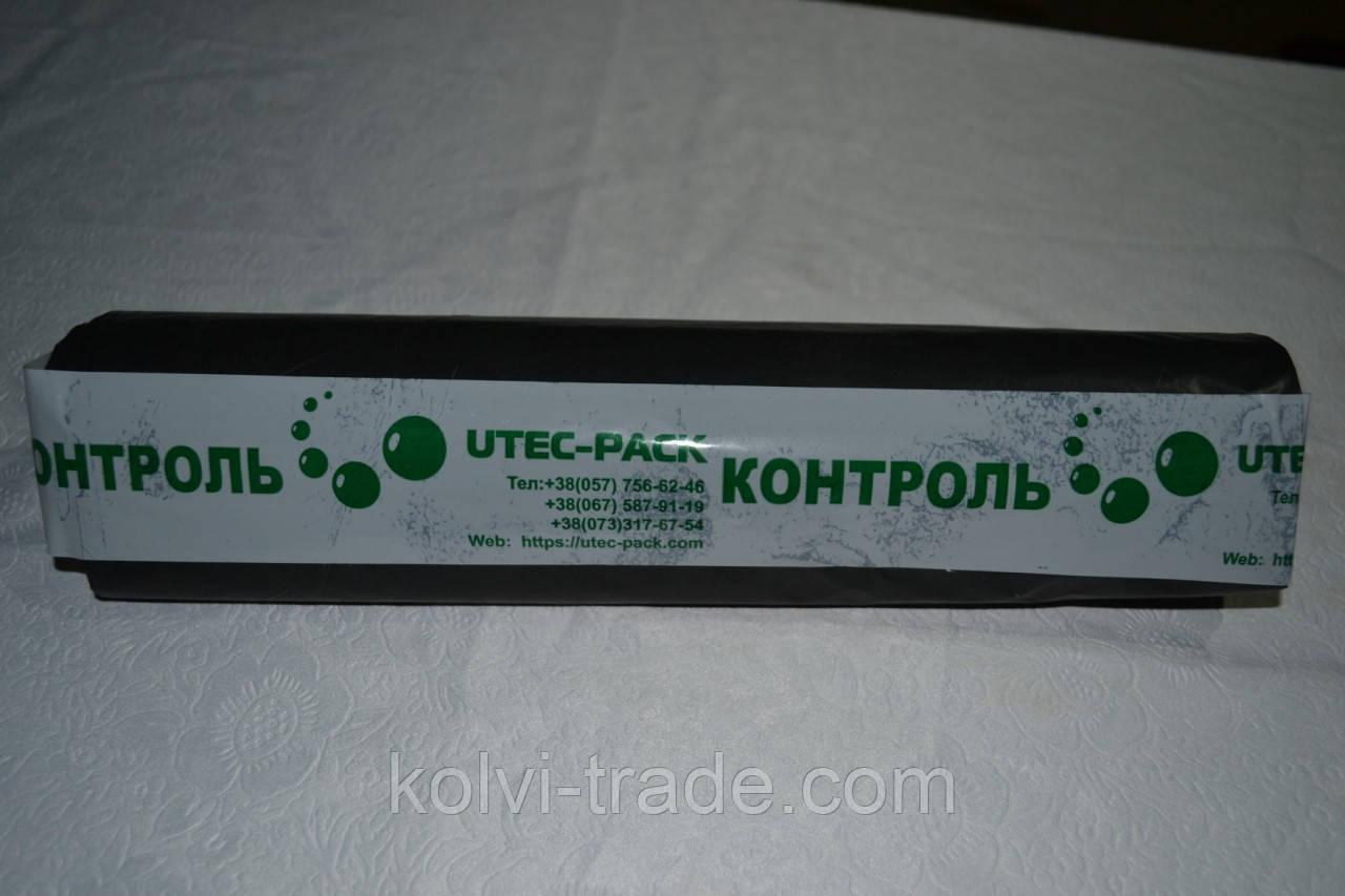 Мешки для мусора на 180 литров черные (в рулоне 50 штук, 90х110 см)