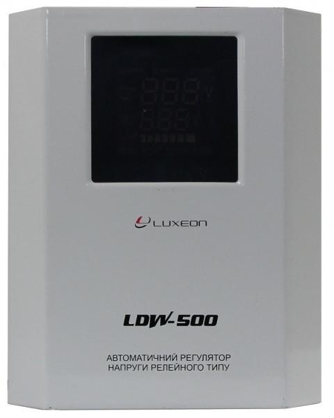 Стабілізатор напруги LUXEON LDW-500 +
