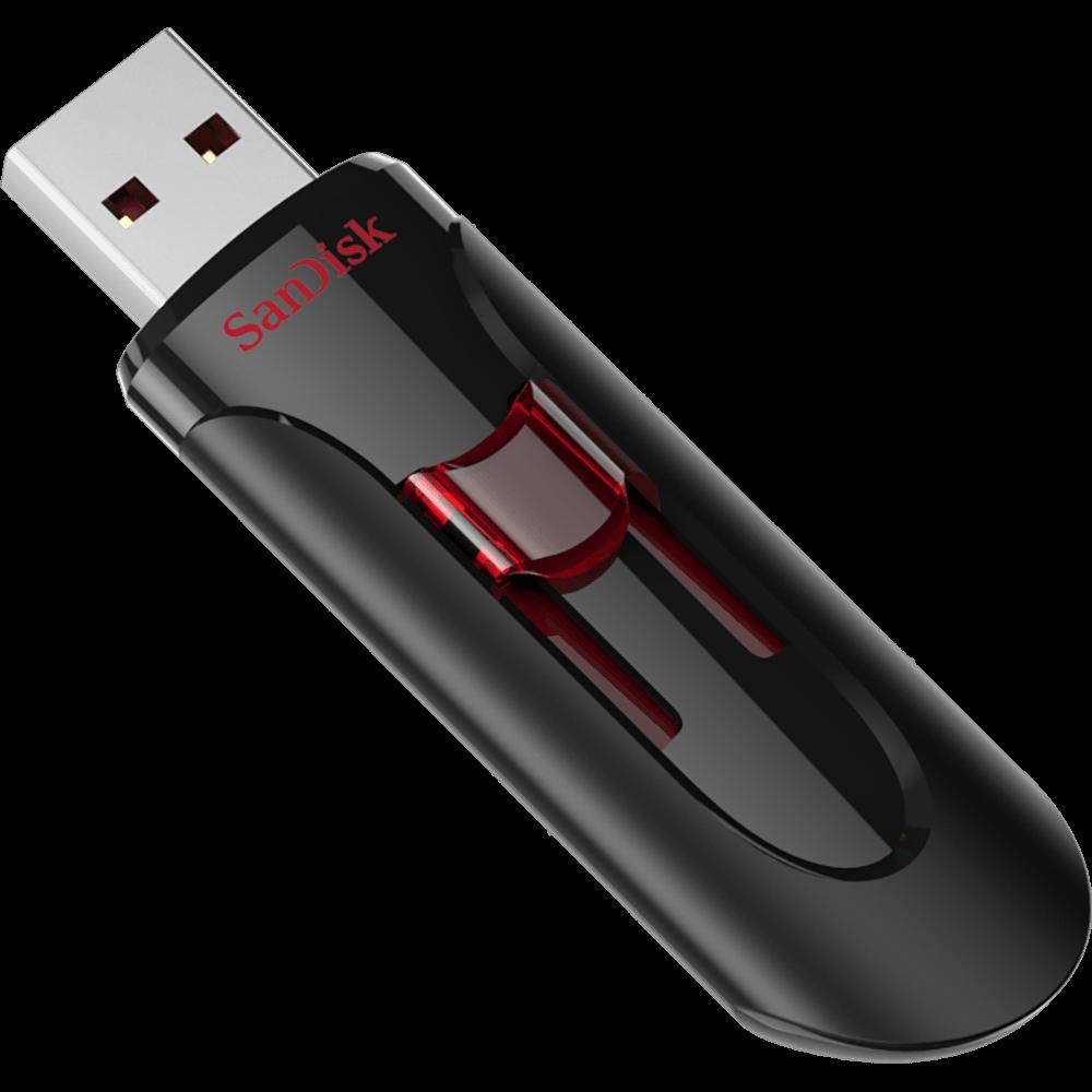 Флешка USB 3.0 128 Gb SanDisk Cruzer Glide, SDCZ600-128G-G35