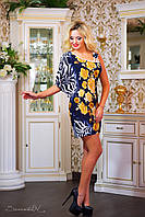 Эффектное платье мини, фото 1