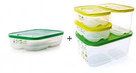 Набор контейнеров Умный холодильник Tupperware 5 шт.