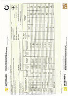 Сертификат труба 40х25