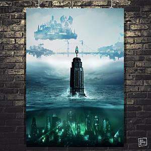 Постер Bioshock. Размер 60x43см (A2). Глянцевая бумага