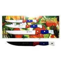 Нож трехцветный №4,лезвие 9 сантиметров