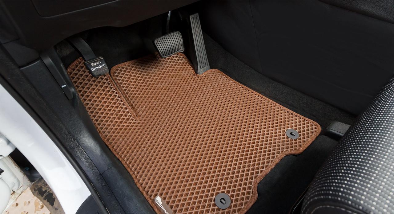 Автоковрики для Kia Sportage IV (2015 ->) eva коврики от ТМ EvaKovrik