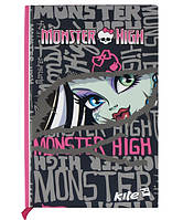 Блокнот тверда обкл., 80арк., А5- Monster High