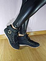 Ботинки Весна Shouse Black 51, фото 1