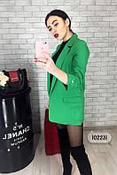 МБ зеленый пиджак, женский жакет