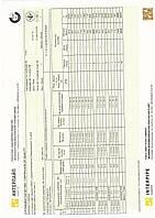 Сертификат труба 50х25
