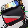 Сумка-штаны велосипедная под смартфон на раму DN BG-40-27, фото 4