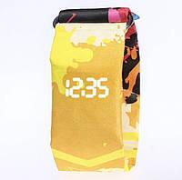 Бумажные часы Paper Watch Желтые