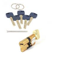 Цилиндровый механизмAPECS Premier XR-70(35х35С)-C15-G золото с вертушком