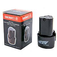 Аккумулятор 12V, 1,5 А/ч для шуруповерта SAKUMA SD1203