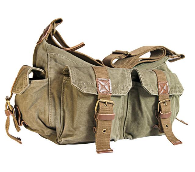 Мужская сумка хаки
