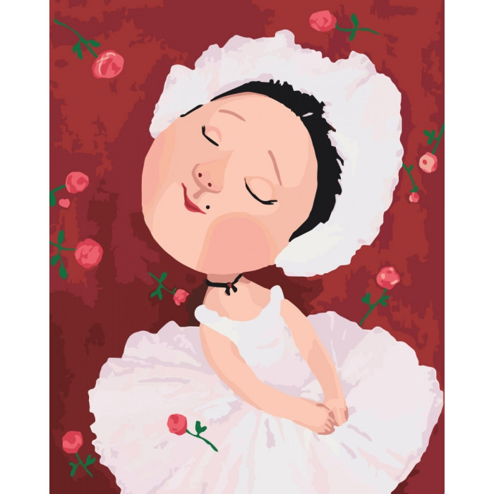 Картина по номерам Гапчинская Майя Плисецкая 40*50 см Идейка, KNG024, 945923