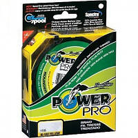 Плетенка Power Pro 135м d 0.28мм желтая