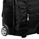 Сумка-рюкзак на колесах Granite Gear Haulsted Wheeled 33 Black, фото 4