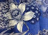 10509-13, павлопосадский платок шерстяной (разреженная шерсть) с швом зиг-заг, фото 6