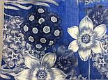 10509-13, павлопосадский платок шерстяной (разреженная шерсть) с швом зиг-заг, фото 8