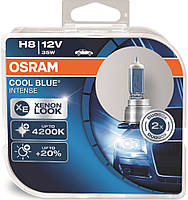 "Автомобильные галогенные лампы ""OSRAM"" (H8)(Cool Blue intense)(4200K)(+20%)(12V)(35W), фото 1"
