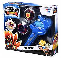 Волчок Infinity Nado Серии Атлетик Fiery Blade (Огненный клинок) с устройством запуска
