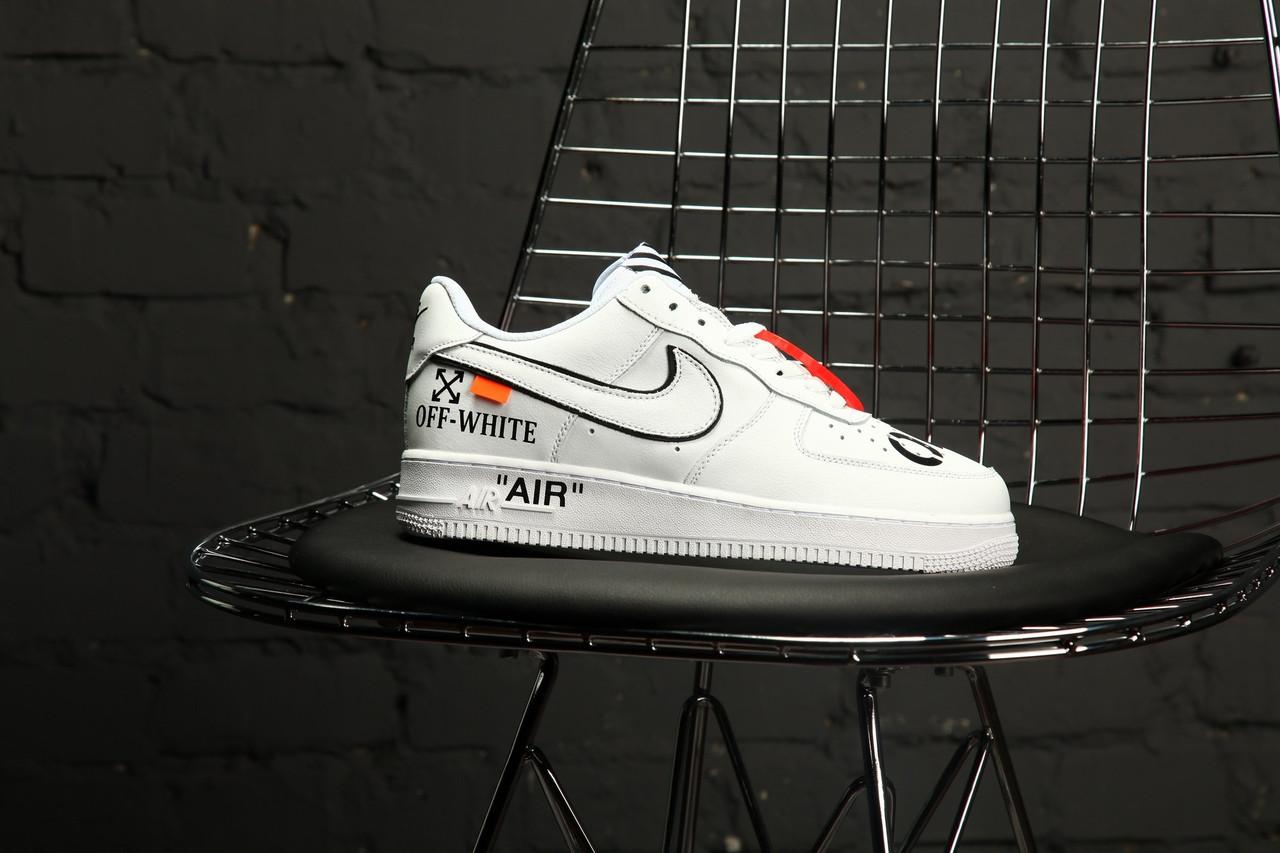 Мужские кроссовки Nike Air Force 1 Low Off-White - FREE CHOICE - ИНТЕРНЕТ- d999bc1e7ca5c
