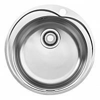 Врезная круглая кухонная мойка Franke Ronda ROL 610-41 (101.0255.788) декор из нержавеющей стали