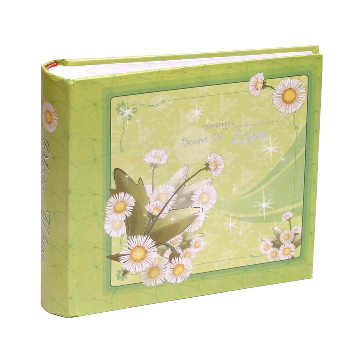 Фотоальбом 10*15/100 Flower Green ( на складе )