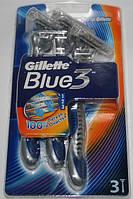 Одноразовые станки Gillette Blue 3 3 штуки