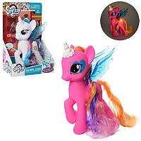 Игровой набор фигурка Литл Пони (my Little Pony) принцесса с крыльями 19 см, музыка, всет, 2 вида, 63815-1-2