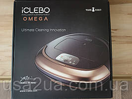 Продаю робот пылесос ICLEBO OMEGA White YCR-M07-20 новый гарантия кредит