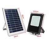 Уличный светильник на солнечной батарее  с датчиком освещенности  120 LED 3.7 В/6000 мАч, фото 2