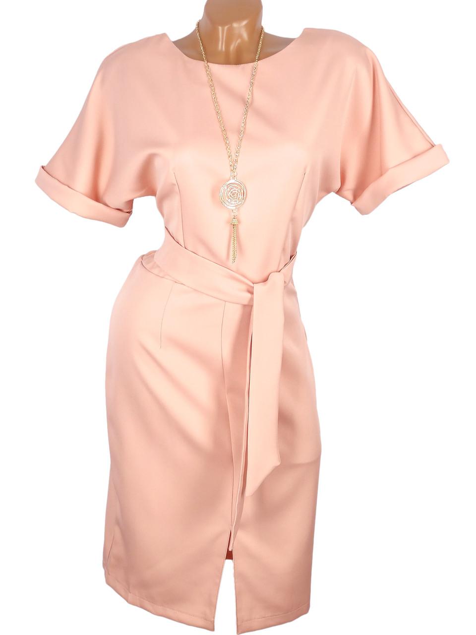 Платье женское с украшением (в расцветках)
