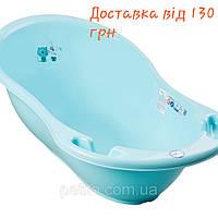 Ванночка для купания с термометром и сливом Tega baby 86 см